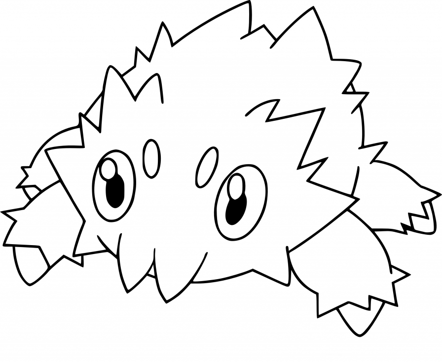 Coloriage Statitik Pokemon