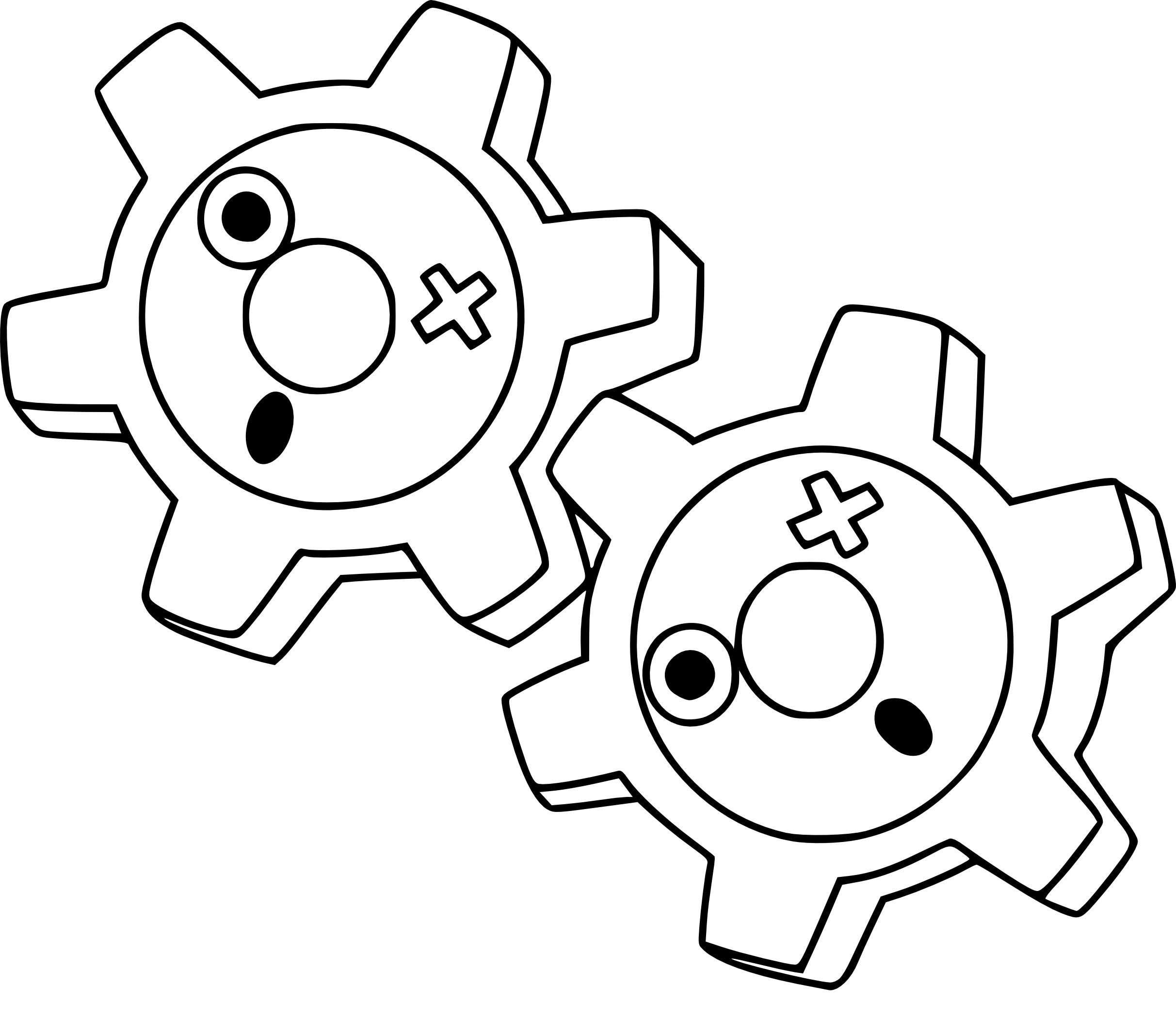 Coloriage Tic Pokemon 224 Imprimer