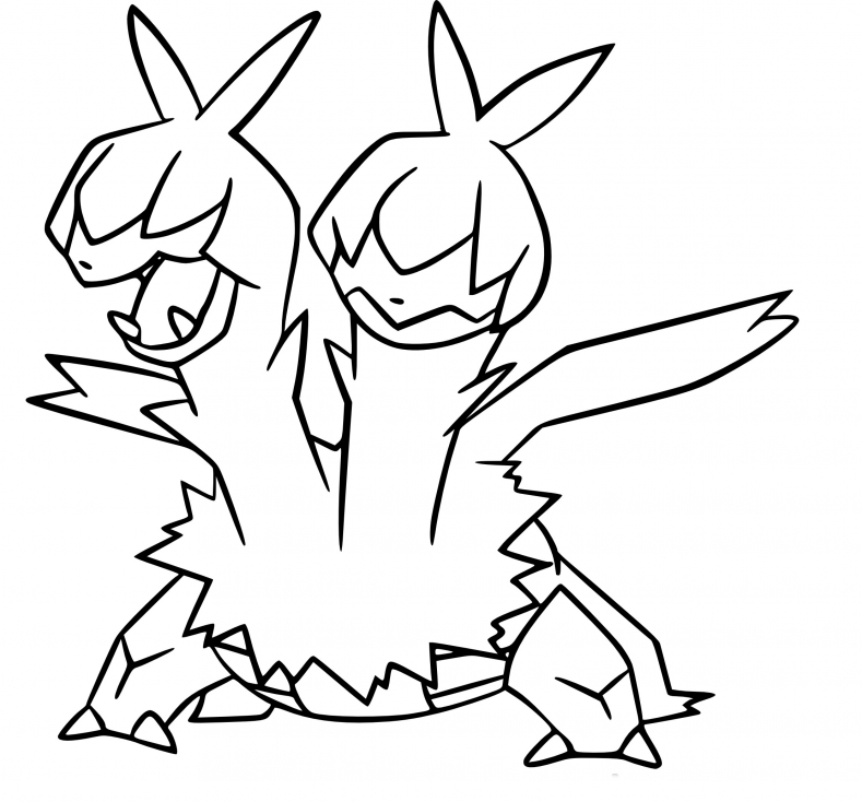 Coloriage Diamat Pokemon