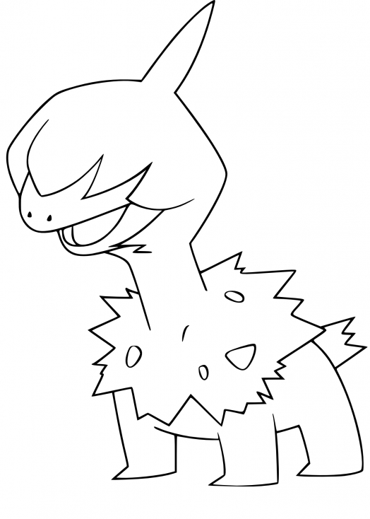 Coloriage Solochi Pokemon