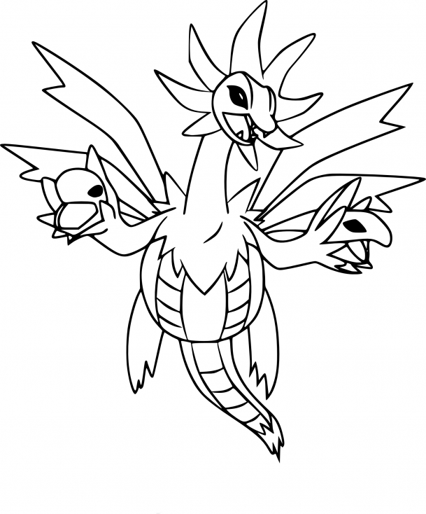 Coloriage Trioxhydre Pokemon