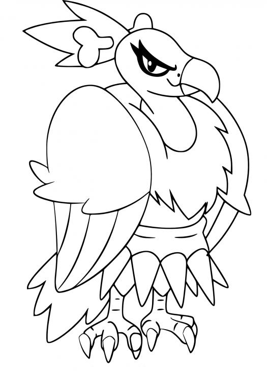 Coloriage Vaututrice Pokemon