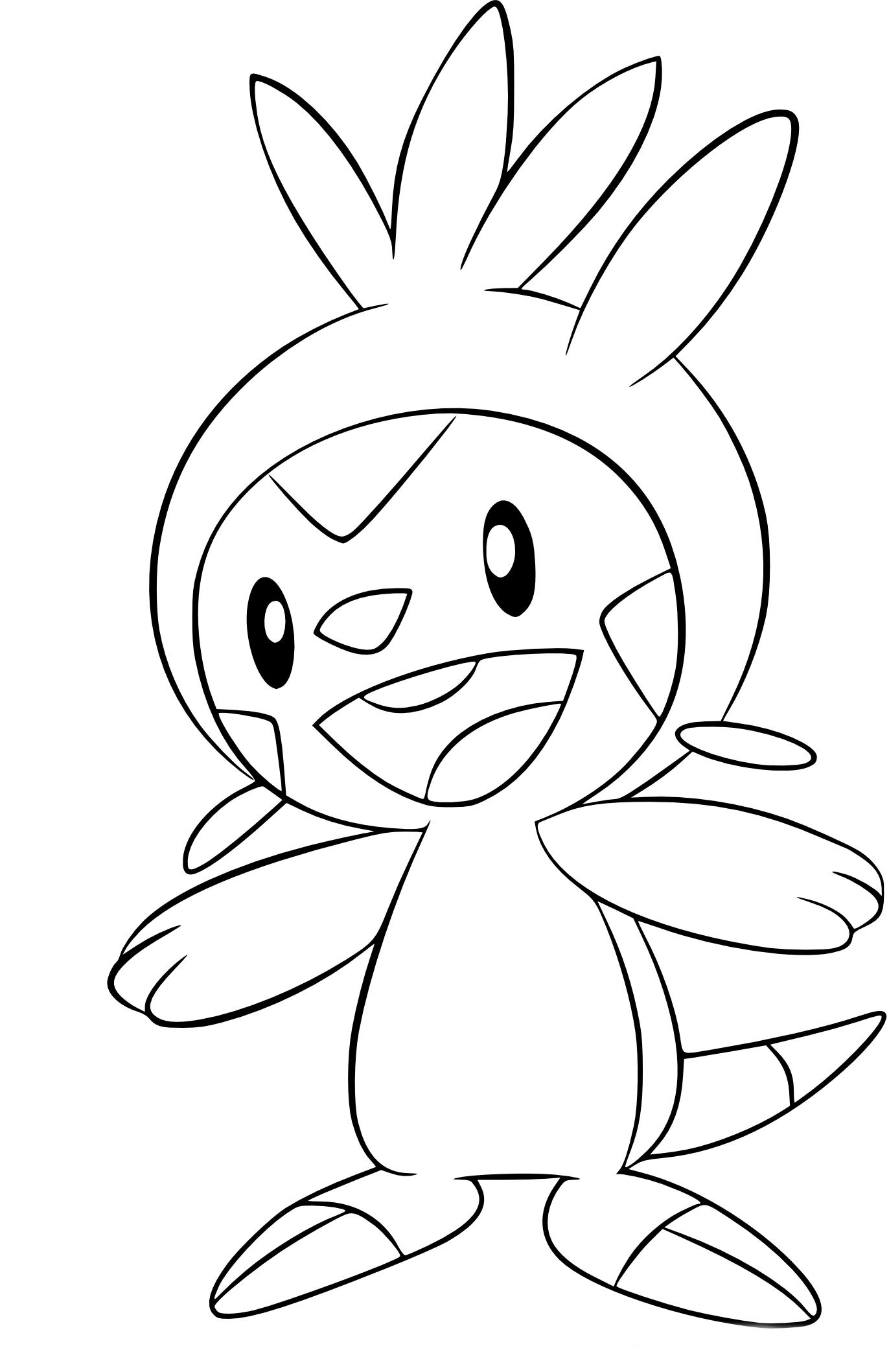 Coloriage Marisson Pokemon à imprimer