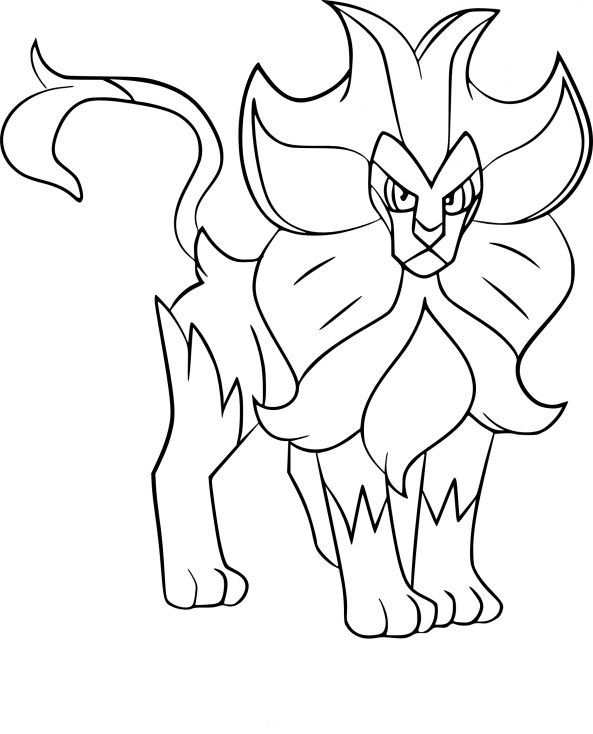 Coloriage Némélios Pokemon