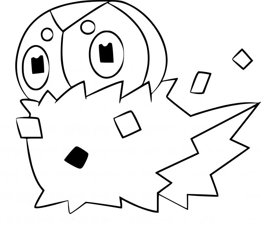 Coloriage Pérégrain Pokemon