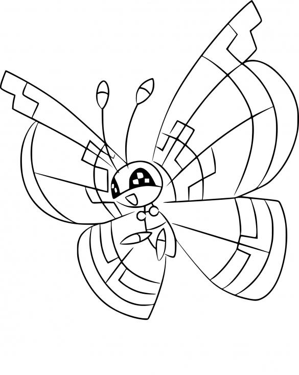 Coloriage Prismillon Pokemon