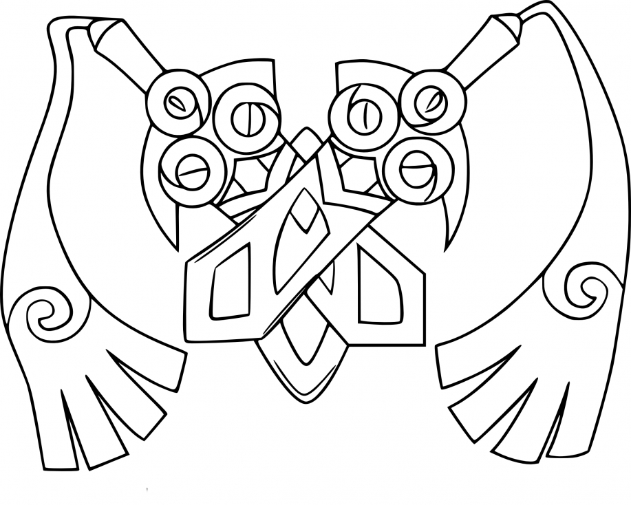 flabebe pokemon coloring pages - 917×734