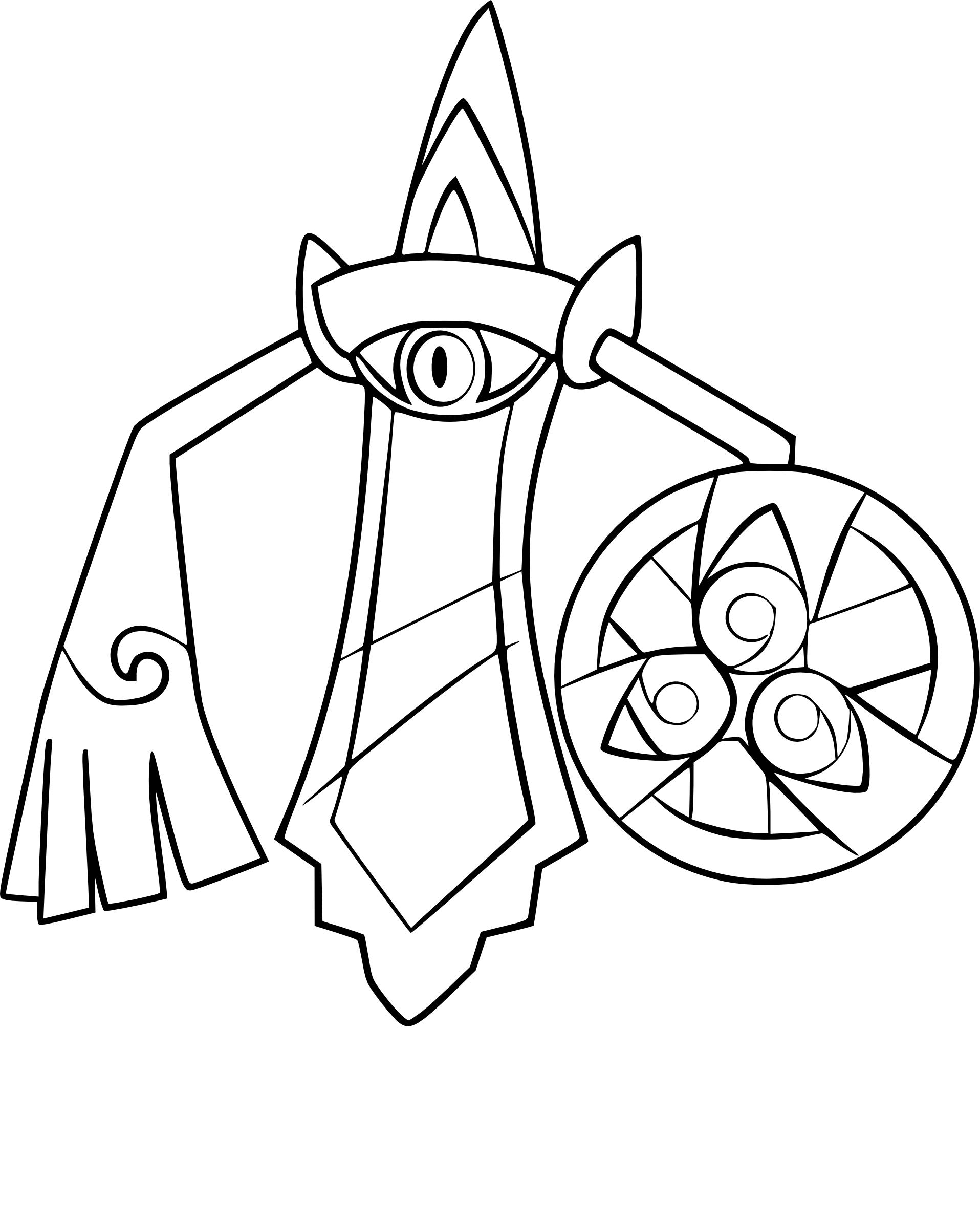 Coloriage Exagide Pokemon A Imprimer