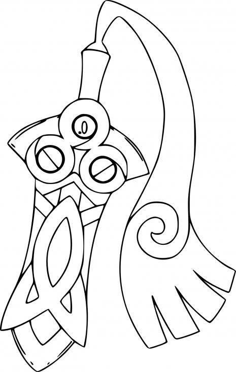 Coloriage Monorpale Pokemon