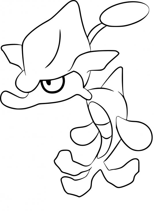 Coloriage Venalgue Pokemon
