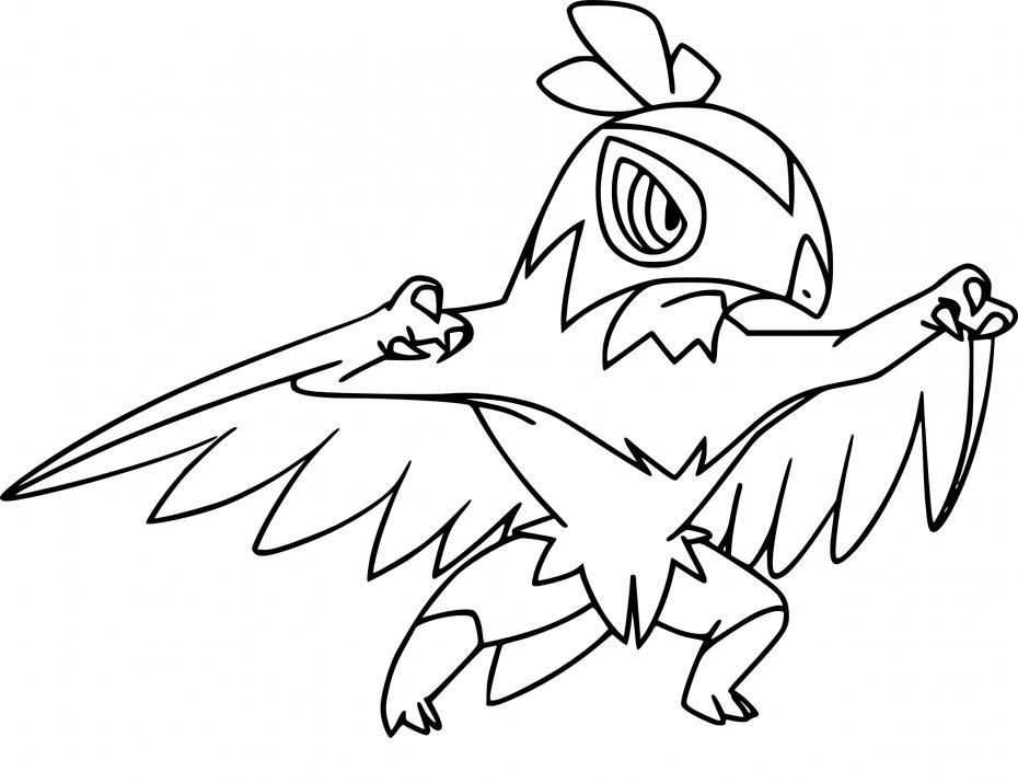 Coloriage Brutalibré Pokemon