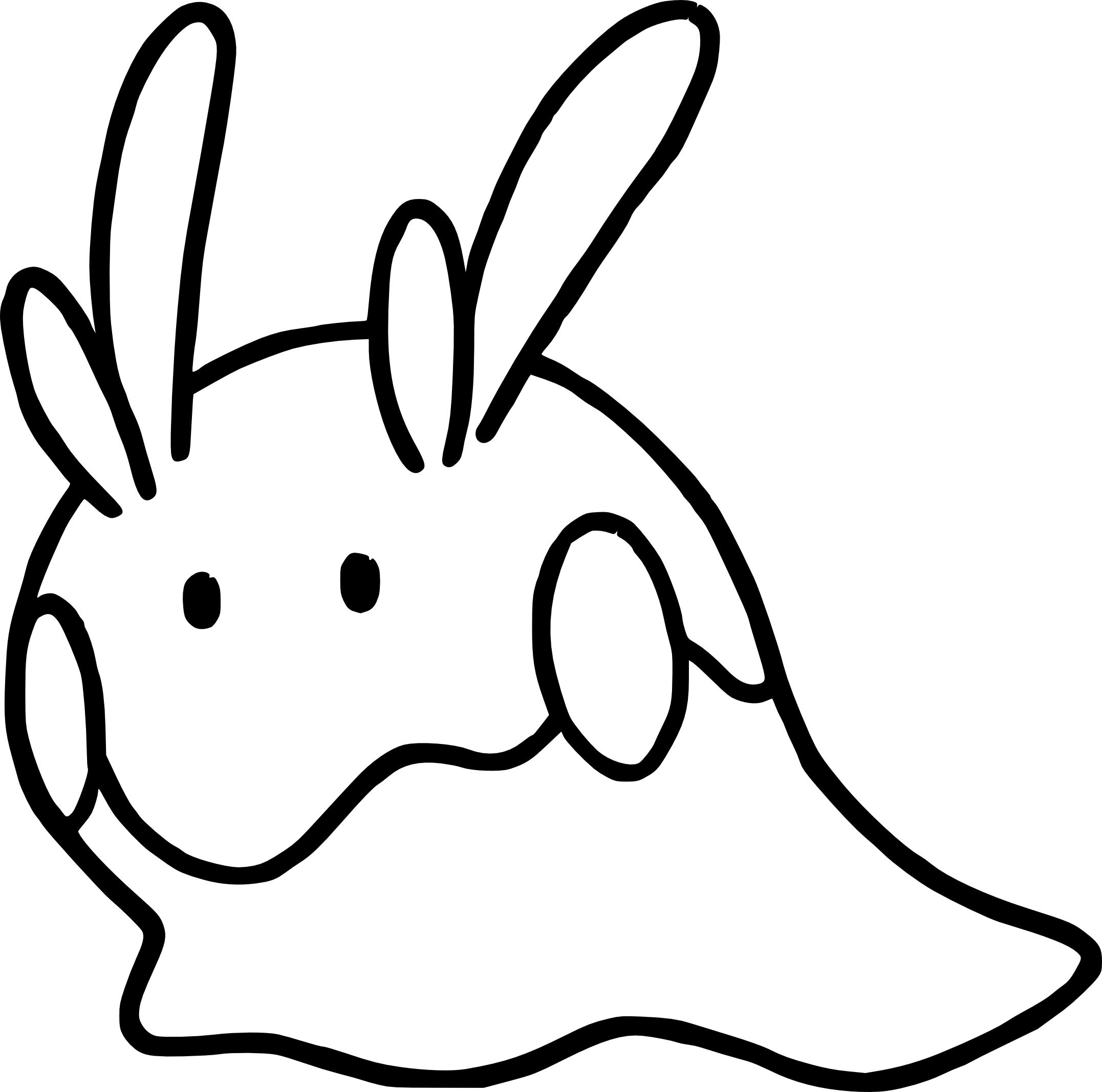 Coloriage Mucuscule Pokemon à imprimer