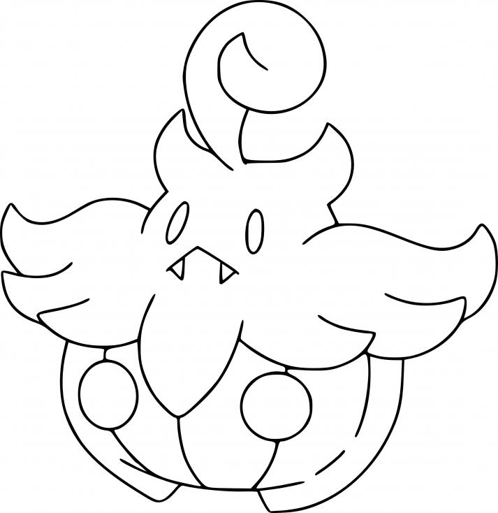 Coloriage Pitrouille Pokemon