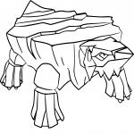 Coloriage Séracrawl Pokemon