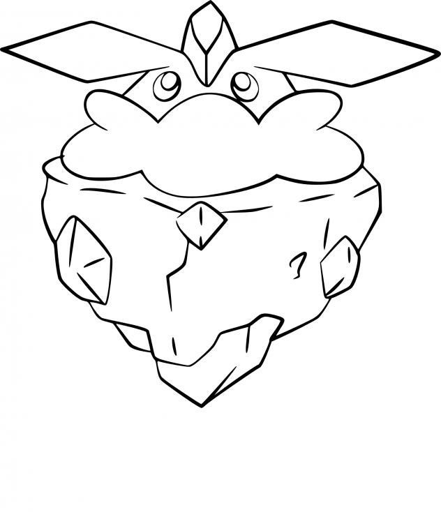 Coloriage Strassie Pokemon