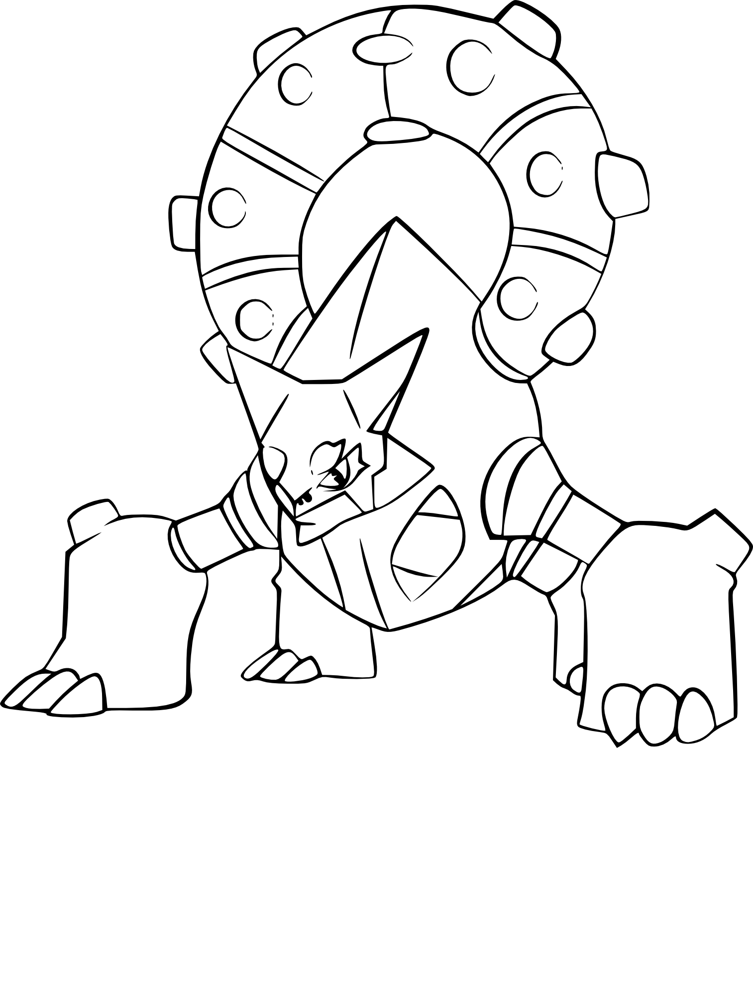 Coloriage volcanion pokemon imprimer - Dessiner pokemon ...