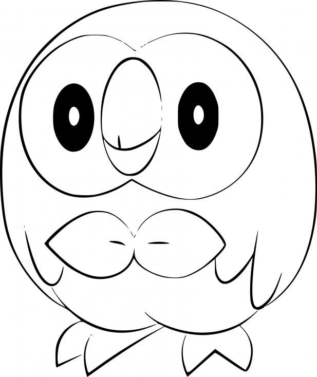Coloriage Brindibou Pokemon