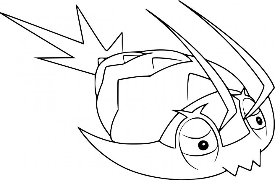 Coloriage Sovkipou Pokemon