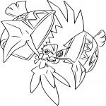 Coloriage Tokorico Pokemon
