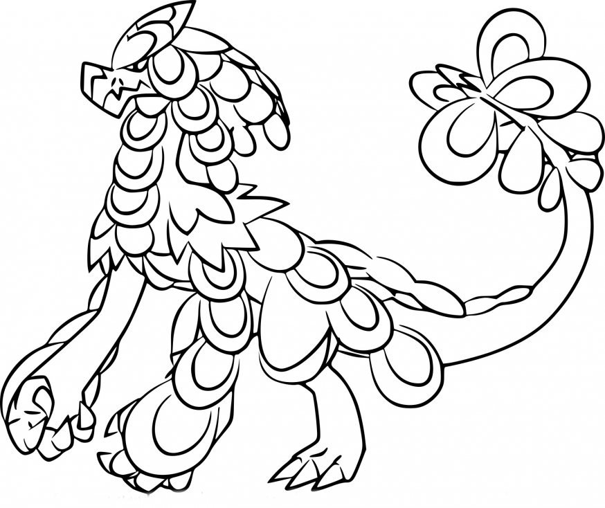 Coloriage Ékaïser Pokemon