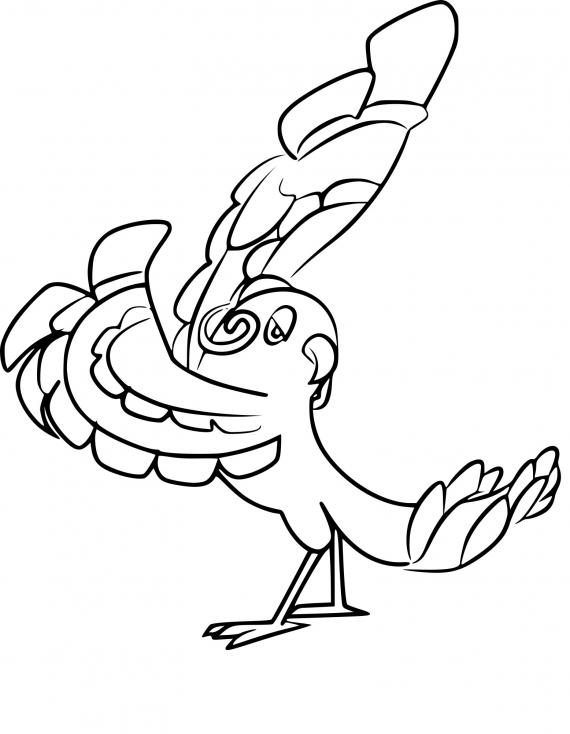 Coloriage Plumeline Flamenco Pokemon