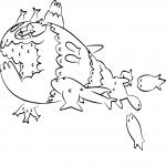 Coloriage Froussardine Banc Pokemon