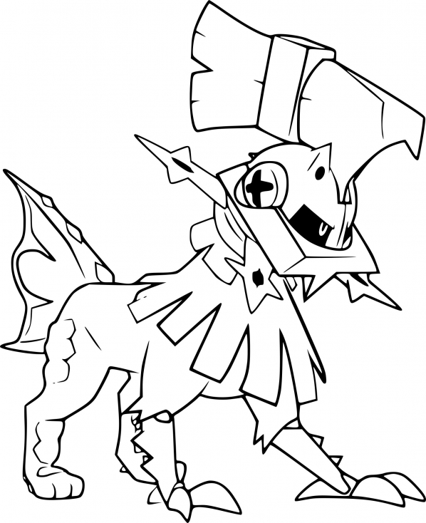 Coloriage Type:0 Pokemon
