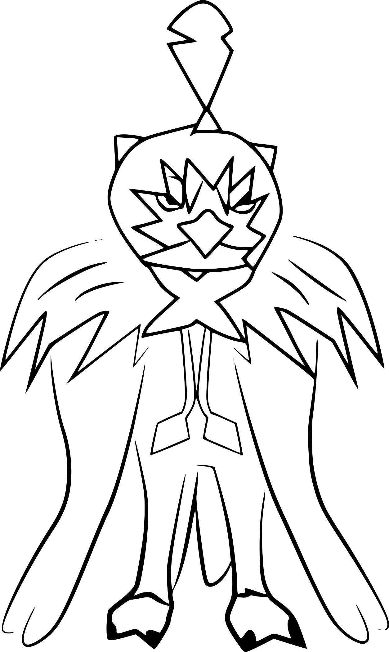 Coloriage arch duc pokemon imprimer - Coloriage pokemon lune ...