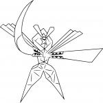 Coloriage Katagami Pokemon