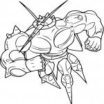 Coloriage Pokemon Combat A Imprimer