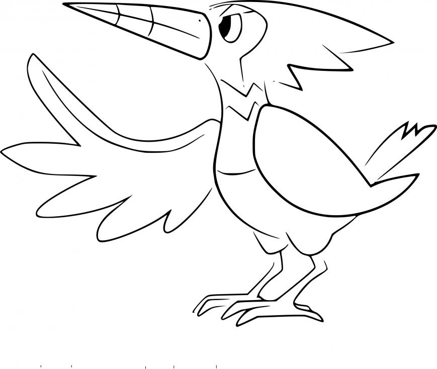 Coloriage Piclairon Pokemon