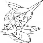 Coloriage Tokopisco Pokemon
