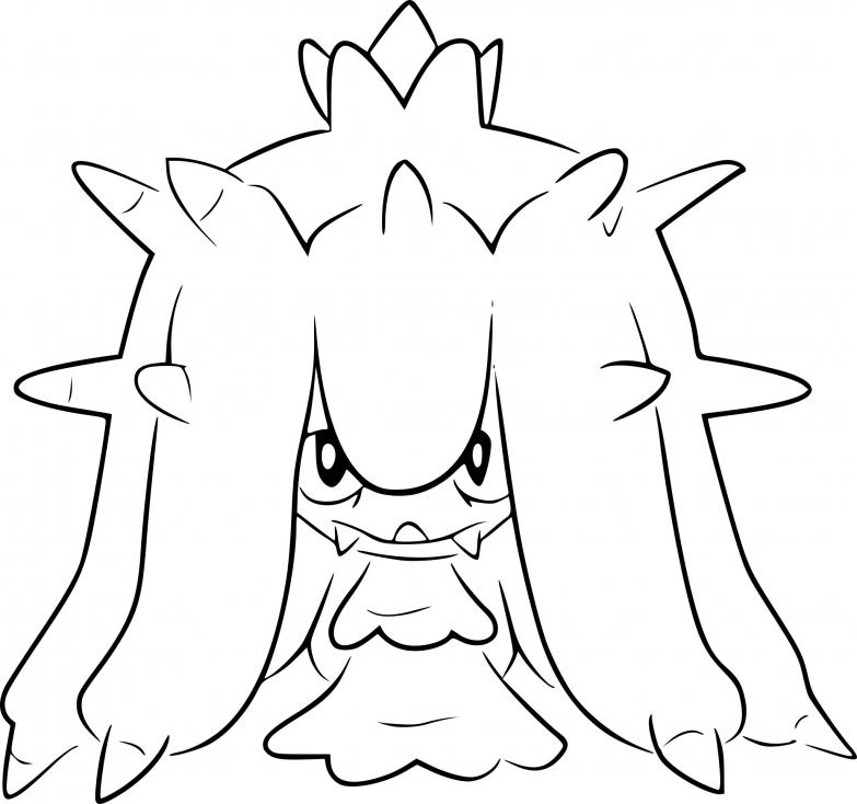 Coloriage Vorastérie Pokemon