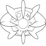 Coloriage Cosmovum Pokemon