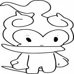 Coloriage Marshadow Pokemon