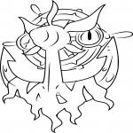 Coloriage Sinistrail Pokemon