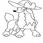 Coloriage Couafarel Demoiselle Pokemon