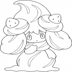 Coloriage Charmilly Pokemon