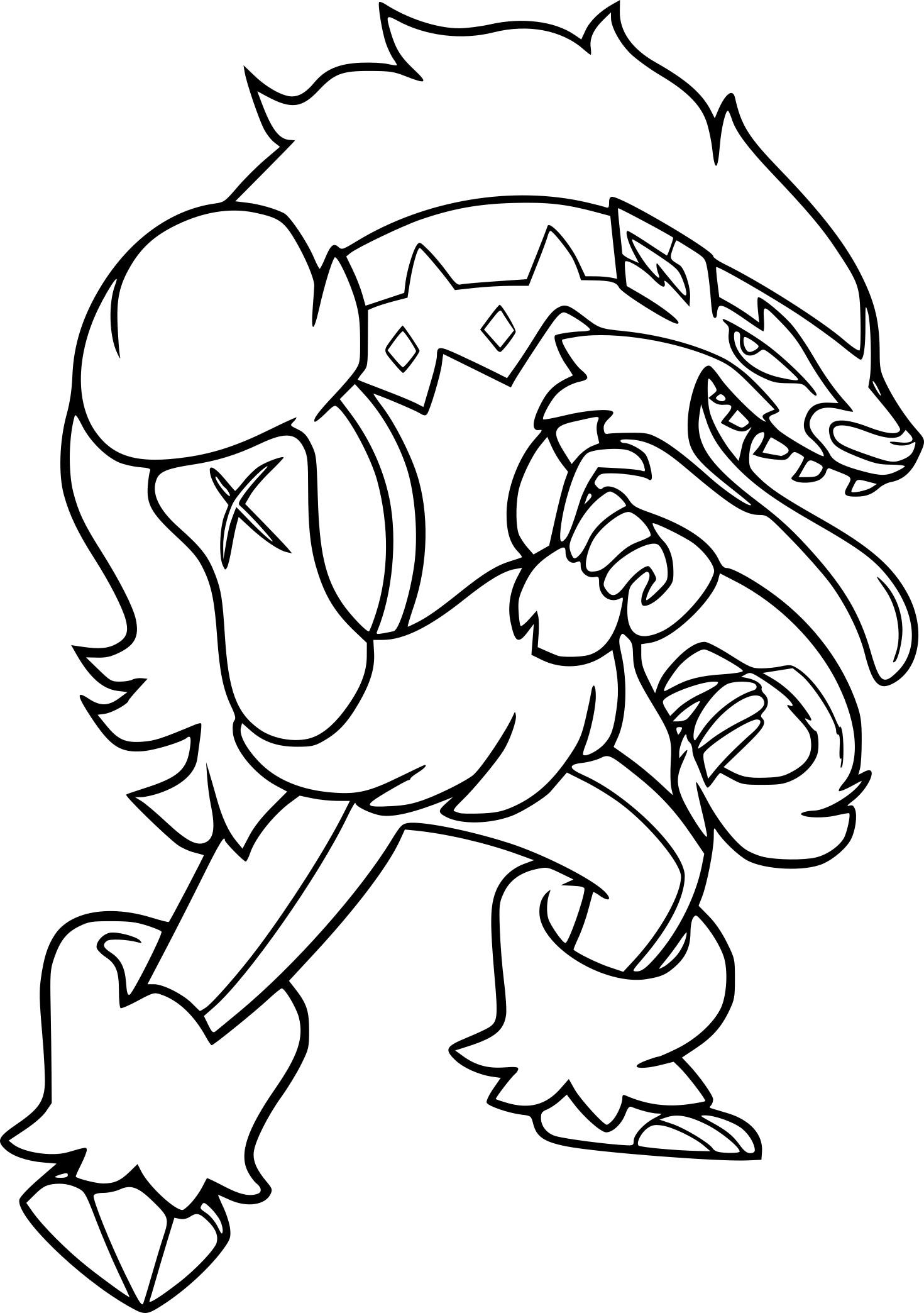 Coloriage Ixon Pokemon A Imprimer