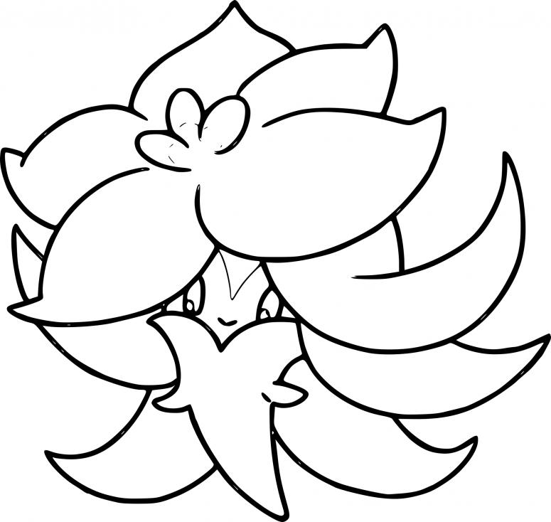 Coloriage Tournicoton Pokemon