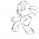 Coloriage Wushours Pokemon