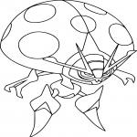 Coloriage Astronelle Pokemon