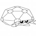 Coloriage Coléodôme Pokemon
