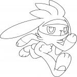 Coloriage Lapyro Pokemon