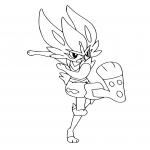 Coloriage Pyrobut Pokemon