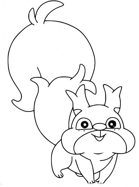 Coloriage Rongourmand Pokemon