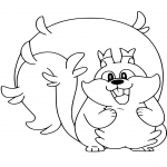 Coloriage Rongrigou Pokemon
