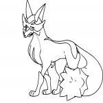 Coloriage Roublenard Pokemon